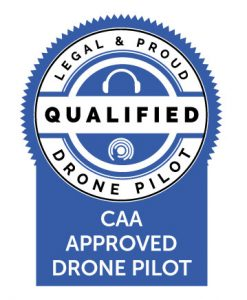 Image CAA Approved Drone Operator