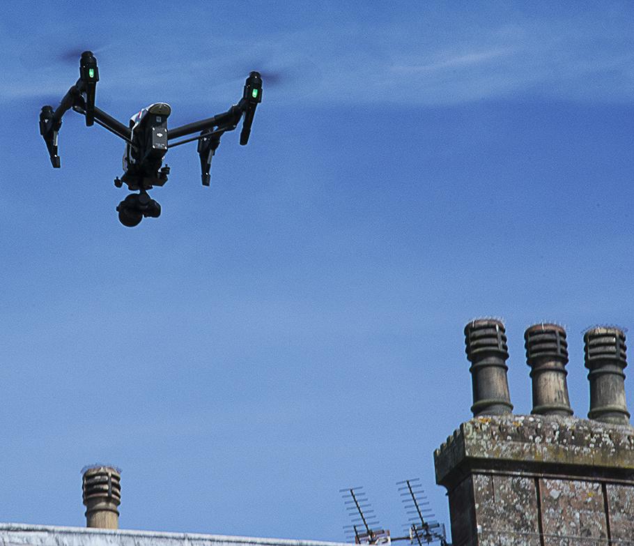 VFR Studios drone in flight